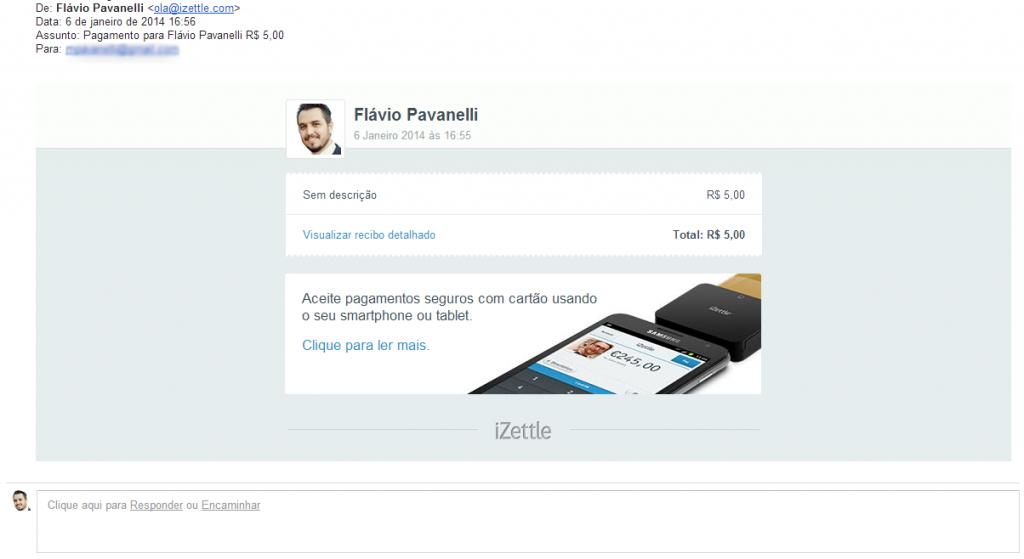 izettle - Fwd  Pagamento para Flávio Pavanelli R  5 00   pavanelli gmail.com   Gmail
